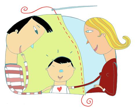 Famille retricotée- Magazine Enfant Québec