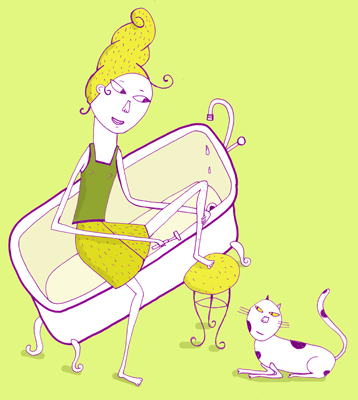 Poils et chat