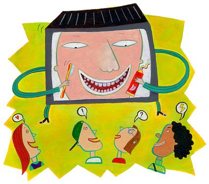 Dentifrice et publicité
