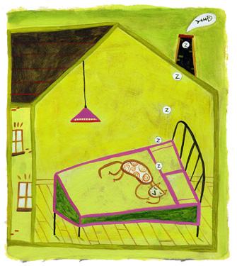 La maison qui dort