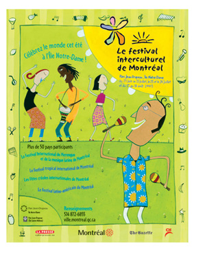 Le Festival Interculturel de Montreal