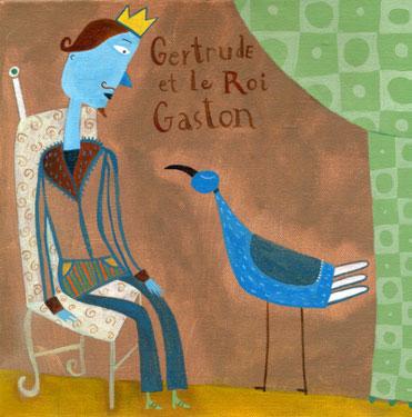 Gertrude et le roi Gaston