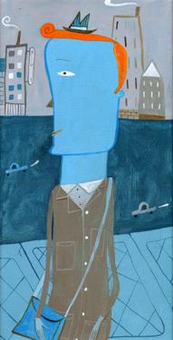 Homme dans la ville