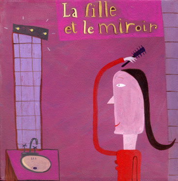 La fille et le miroir
