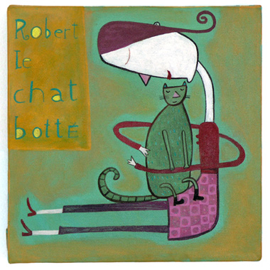 Robert le chat botté